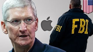 Apple vs FBI: Tim Cook says Apple won't build backdoor for Feds in San Bernardino case