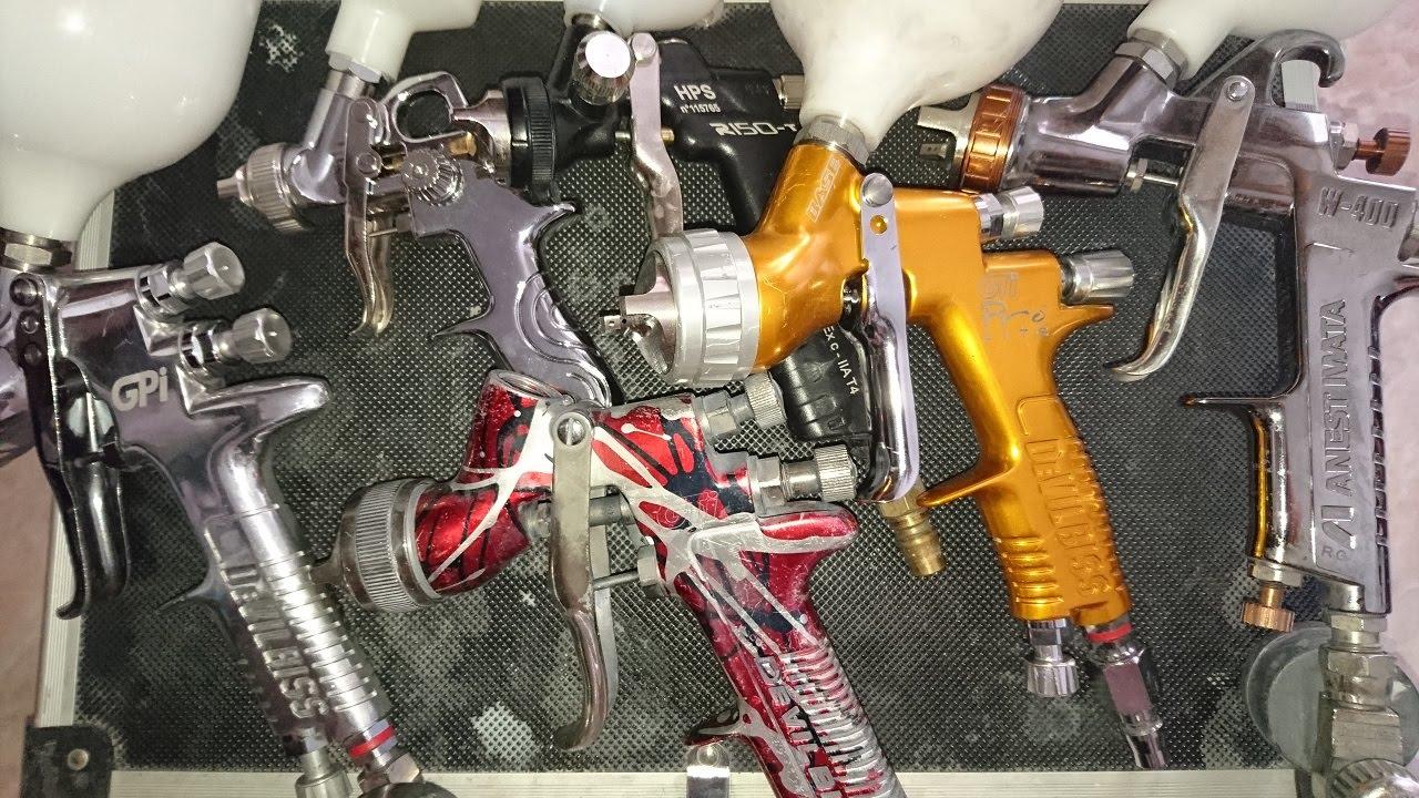 Top 10 spray guns doovi for Best automotive paint gun