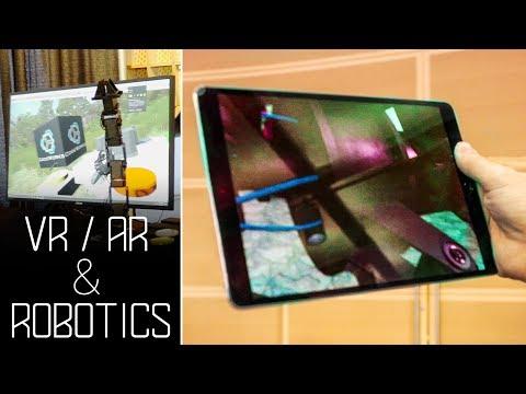 Augmented Reality (AR) Virtual Reality (VR) & Robotics applications - House of Design Robotics