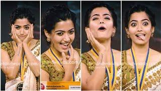 Rashmika Mandanna Cute Expressions   Rashmika Mandanna Whatsapp Status   Rashmika Mandanna Status 2