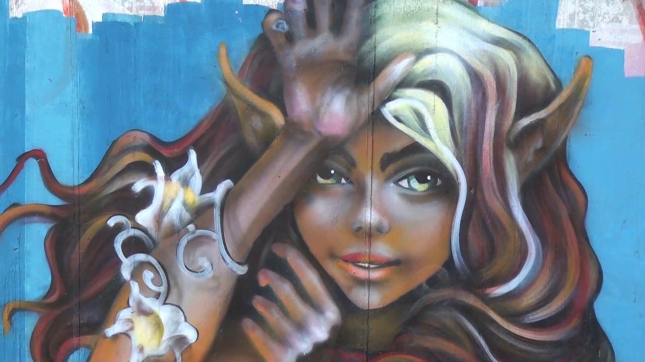 graffitis en chiguayante chile