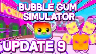 ROBLOX - 🔴 Bubble Gum Simulator UPDATE 9 - CANDY LAND!!!! 🔴