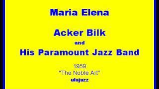 Gambar cover Acker Bilk PJB 1959 Maria Elena