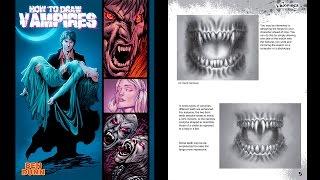 Como dibujar vampiros  Descarga How to draw vampires pdf