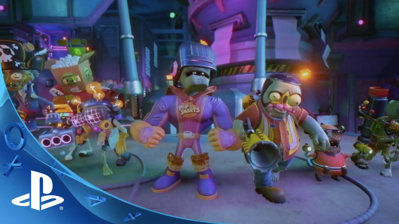 Plants Vs Zombies Garden Warfare 2 Trouble In Zombopolis Trailer