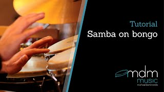 Samba on bongo, free lesson