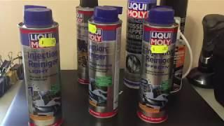 Toyota Prius Liqui Moly чистка инжектора заслонка датчик