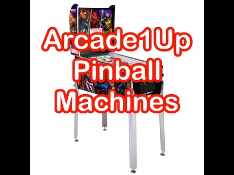 Arcade1Up Pinball Machine Cabinets List Of Games Prices Arcade 1Up Pinballs from rarecoolitems