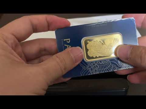 How to spot fake 1 oz Pamp gold - Cách phân biệt vàng 1 oz Pamp giả