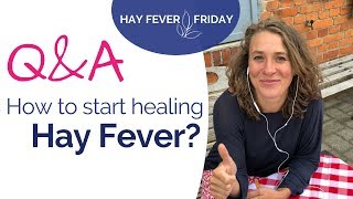 Hay Fever Friday LIVE Q&A - How to heal hay fever, pollen and ragweed allergies