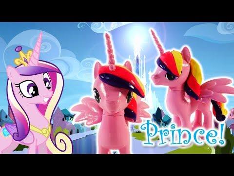 Custom Pony Princess Cadance to Prince Genderbend