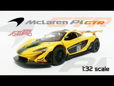 McLaren P1 GTR 1:32 scale MSZ Diecast Car