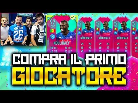 😍KOULIBALY ATT!!! COMPRA IL PRIMO GIOCATORE su FIFA 19 w/Tatino23, Ohm ed Enry Lazza