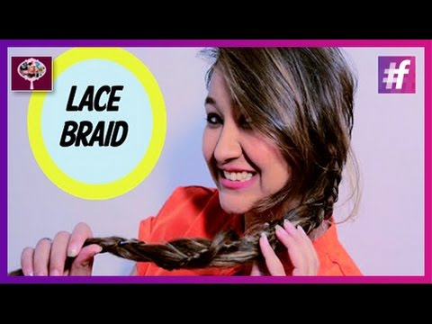 Lace Braid Ponytail | Hairstyle Tutorial thumbnail