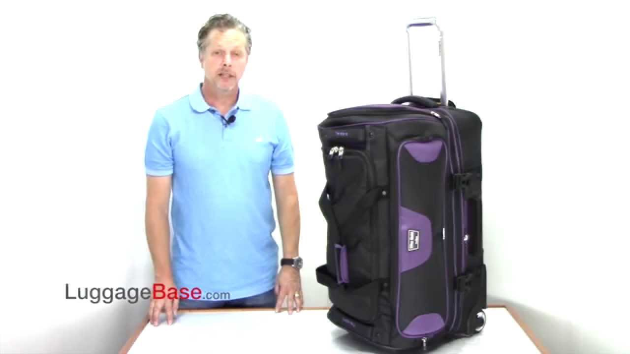 56414b2563f9 Best Price Travelpro T-Pro Bold 2.0 26 Drop Bottom Duffel - YouTube