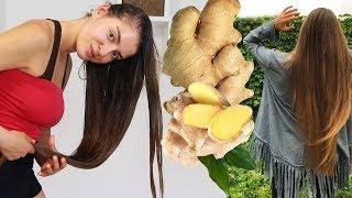 МАСКА для РОСТА ВОЛОС с ИМБИРЁМ 🔥 Как отрастить длинные волосы в домашних условиях 🌴 POLI NA PALME