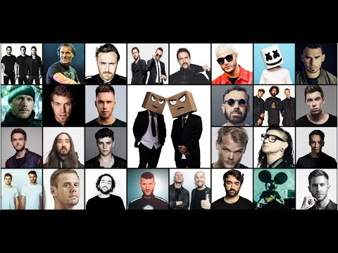 Djs From Mars - The Best Of EDM 2010 - 2020 Megamashup