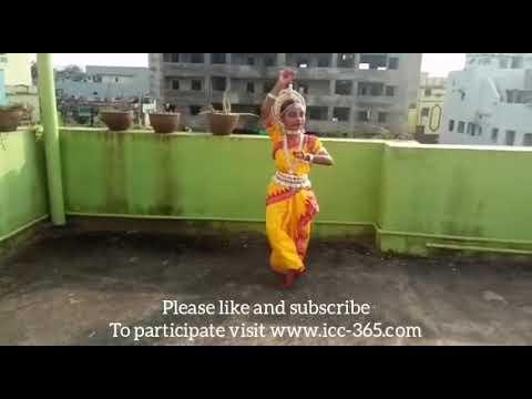 Radha Rani Sange Odissi traditional dance