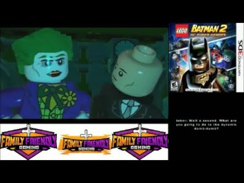 Lego Batman 2 DC Super Heroes 3DS Episode 10