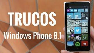 Trucos Windows Phone 8.1, en español
