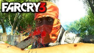 Far Cry 3 Sniper Stealth Gameplay PC