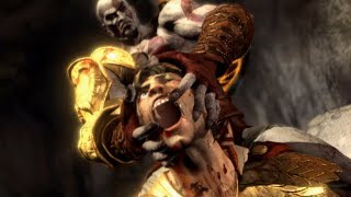 God of War 3 Remastered: Helios Boss Fight PS4 (1080p 60fps)
