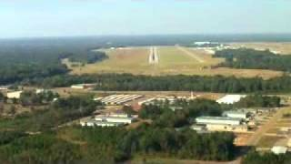 Jet Landing Across a Busy Road Jackson Mississippi