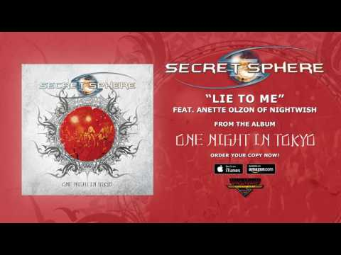 "Secret Sphere - ""Lie To Me"" (feat. Anette Olzon ex Nightwish - Studio Version) (Official Audio)"