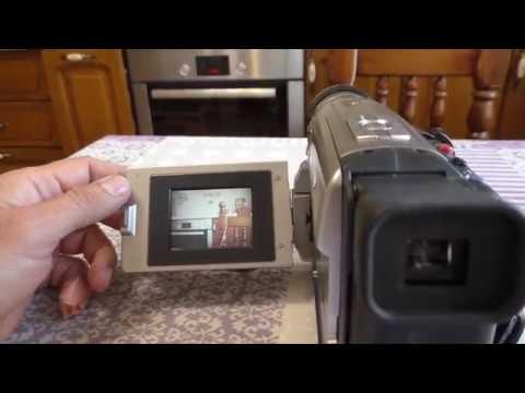 Включение видеокамеры VHS Panasonic VZ 1