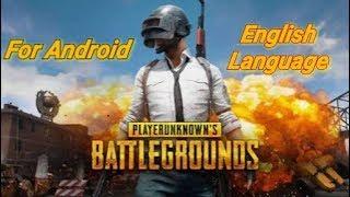 Playerunknowns battleground     Latest Version 4.0  (Data+Apk) Download!