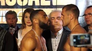 Sergey Kovalev vs Jean Pascal 2 The Official Weigh In / La pesée.