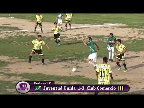 Federal C, Juventud Unida 1-3 Club Comercio - Zona Centro - Fecha 1