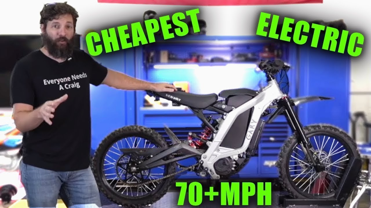 I Modified the CHEAPEST Electric Dirt bike on Amazon
