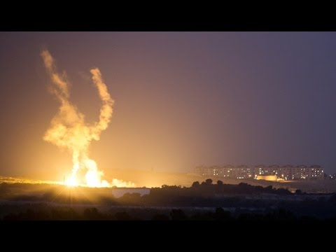 Psalm 83 : The Israeli Ground Offensive into Gaza has begun by Air Land and Sea (Jul 17, 2014)