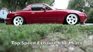 Top Speed Pro1 Exhaust Miata 1.6L