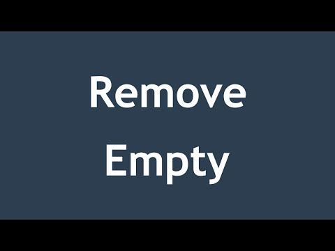 [ JQuery In Arabic ] #12 - Html - Remove / Empty Element