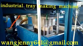 waste paper industrial tray making machine suppliers-0086-15153504975