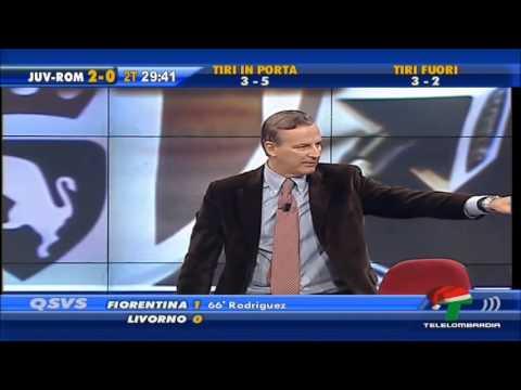 QSVS - il momento dei gol di Juventus - Roma 3 - 0 (TeleLombardia)