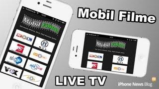 TV auf dem iPhone und iPad 2013 RTL PRO7 Sky GO Mobil Filme