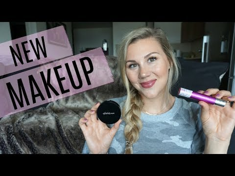 Testing New Organic Makeup! (ft: Fitglow, Alima Pure & Hynt)