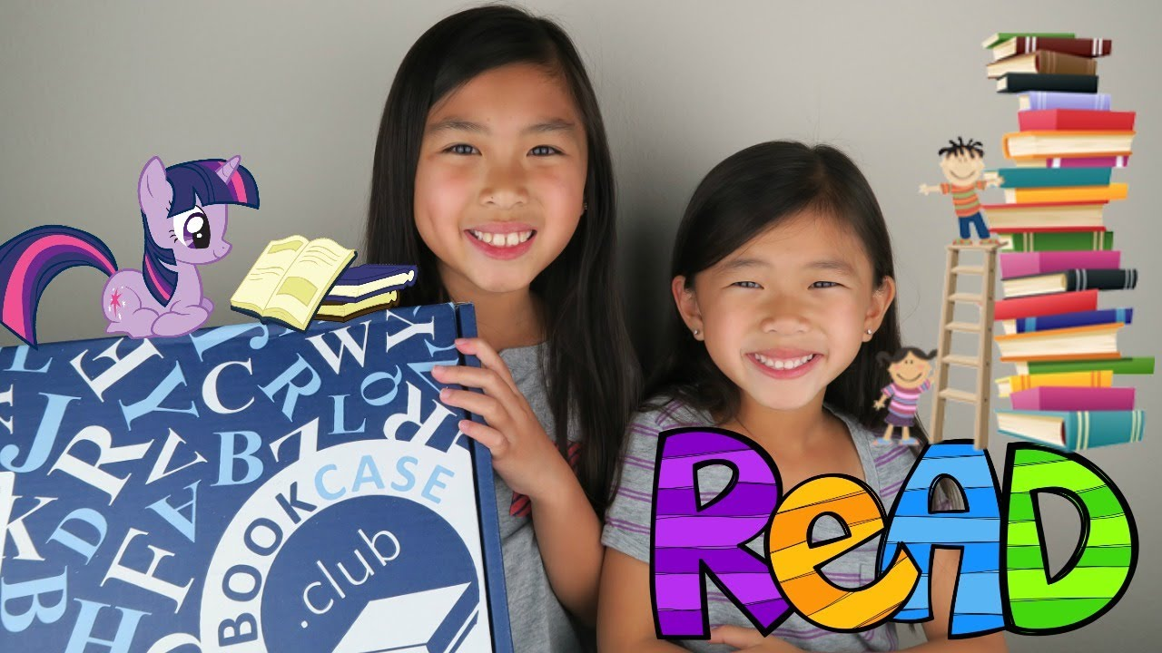 Kids Bookcase Club Subscription Box June 2017 Unboxing 7 8 Years Old