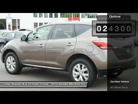 Inver Grove Nissan >> 2014 Nissan Murano Inver Grove Heights St Paul Minneapolis P13675