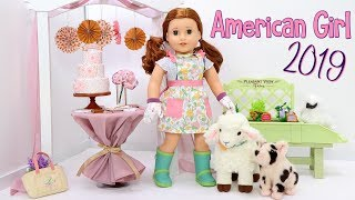 AMERICAN GIRL OF THE YEAR ENTIRE DOLL COLLECTION UNBOXING & SETUP BLAIRE WILSON