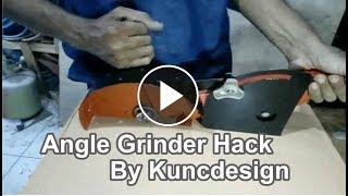 Angle grinder assembly by kuncdesign