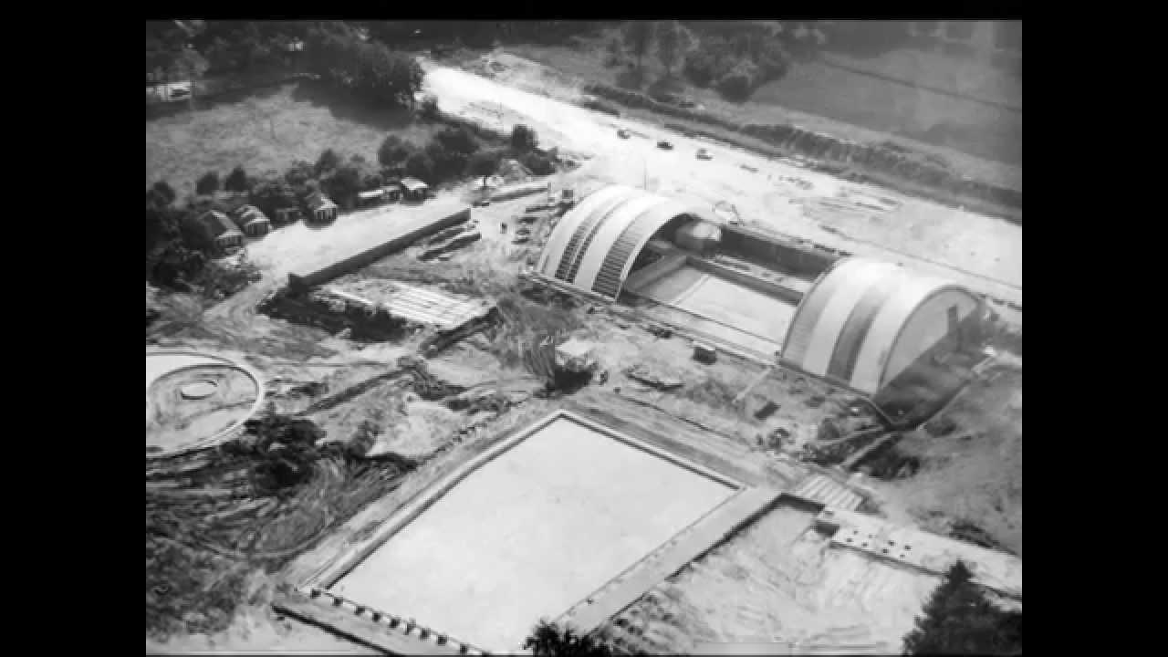 Oud emmen zwembad met schuifdak 1964 1984 youtube - Fotos van het zwembad ...
