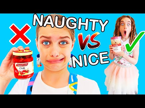 SOMEONE GOT IN TROUBLE! NAUGHTY VS NICE Challenge W/ The Norris Nuts