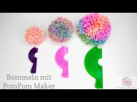 Super einfache Bommeln machen - PomPom Maker