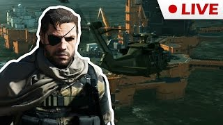 Metal Gear Solid V - #4 - RedCrafting Stream