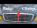 How To Remove The Mercedes Star Badge w211