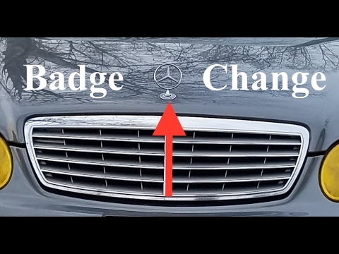 how to remove the mercedes star badge w211 youtube rh youtube com Mercedes W201 Mercedes W212